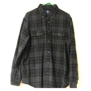 Men's George brand flannel shirt